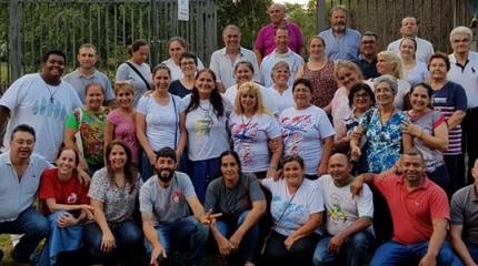 Retiro para padres y Visita en Paraguay!